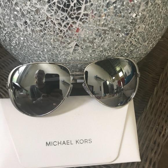 f50bb06239bd Michael Kors Accessories | Chelsea Silver Sunglasses Mk 5004 | Poshmark